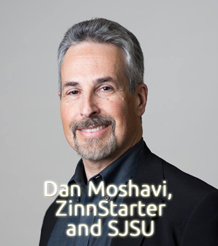Dan Moshavi and ZinnStarter at SJSU