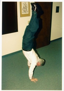 Handstand at age 65