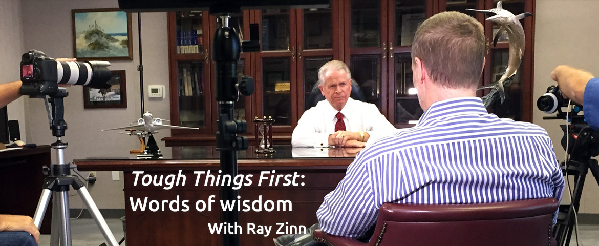 ough Things First: Words of wisdom with Ray Zinn