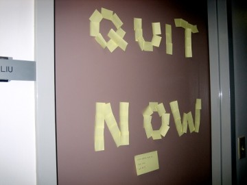 Quitting to Succeed